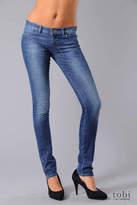 Ksubi Super Skinny Zip Jeans in Vintage Indigo