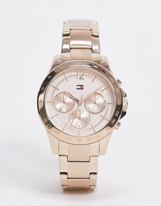 Tommy Hilfiger sunray rose gold bracelet watch 1782197