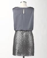 Coldwater Creek Sequin blouson dress