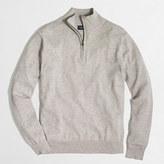 J.Crew Factory Harbor cotton half-zip sweater