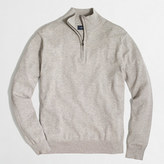 J.Crew Factory Tall harbor cotton half-zip sweater