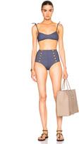 Lisa Marie Fernandez Nicole High Waisted Bikini