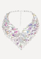 Bebe AB Crystal Necklace