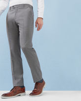 Debonair Mini Design Wool Trousers