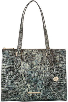 Brahmin Anywhere Melbourne Embossed Leather Tote