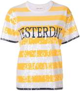 Alberta Ferretti Yesterday sequined shortsleeved T-Shirt