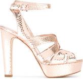 MICHAEL Michael Kors platform sandals - women - Leather - 8.5