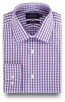 Osborne Lilac Gingham Checked Print Regular Fit Shirt
