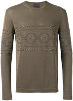 Laneus knitted top