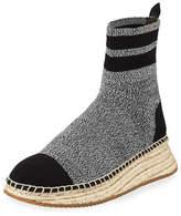 Alexander Wang Dylan Knit Wedge Espadrille Sneaker