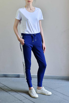 Zoe Karssen Blue White Sweatpants