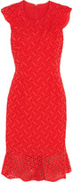 Sachin + Babi Harlow Broderie Anglaise Cotton Dress