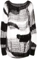 Ann Demeulemeester whispery hand knitted sweater