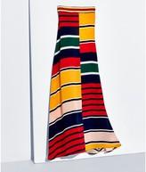 Tommy Hilfiger Silk Striped Maxi Skirt