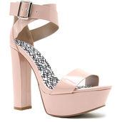 Qupid Beat Platform Ankle-Strap Sandals
