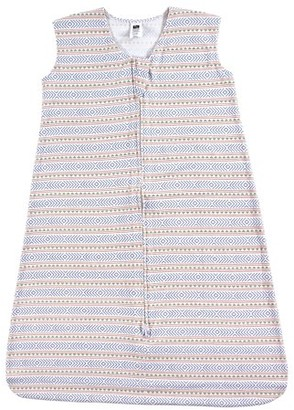 Hudson Baby Boy and Girl Jersey Cotton Sleeping Bag, Aztec Stripe, 6-12 Months