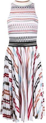 Missoni Contrasting Pattern Knit Dress