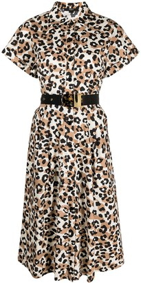 Seventy Leopard-Print Shirt Dress