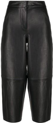 AllSaints Wide-Leg Sheepskin Trousers