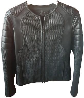 Neil Barrett Black Leather Leather Jacket for Women