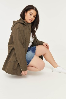 Ardene Plus Size Mock Neck Parka