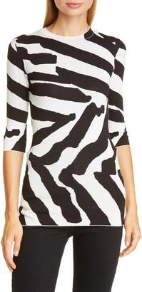 Proenza Schouler Animal Pattern Sweater