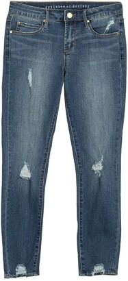 Articles of Society Suzy Cropped Distressed Jeans