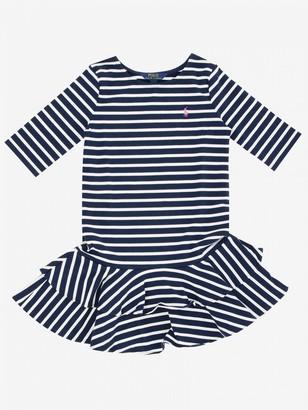 Polo Ralph Lauren Kid Dress With Logo
