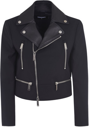 DSQUARED2 Multi-zip Cropped Blazer