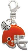 Cheer Bunny Small Football Helmet Mini Heart Clip On Charm