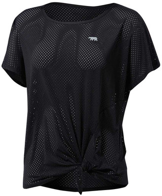 Running Bare Womens Fit to be Tied Workout Tee