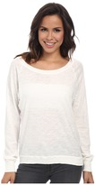 Alternative Slub Slouchy Pullover Women's Long Sleeve Pullover