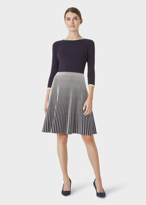 Hobbs Naomi Knitted Dress