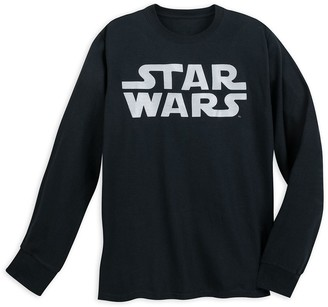 Disney Star Wars Logo Long Sleeve T-Shirt for Adults