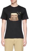 Nanamica Tree trunk print COOLMAX® unisex T-shirt