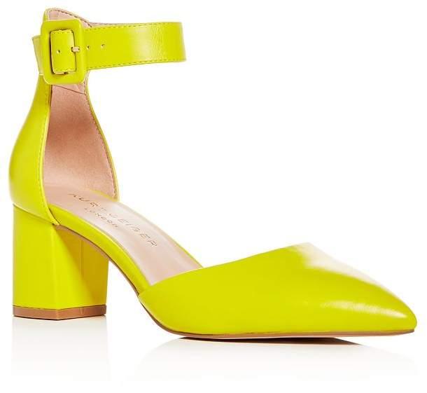 Kurt Geiger Women's Burlington Ankle-Strap Pointed-Toe Pumps