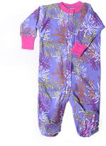 New Jammies Purple Starburst Mums Organic Footie - Infant