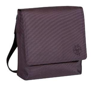 Lassig LSD106 Classic Saddle Bag, Design: Silver, Colour: Choco