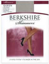 Berkshire Queen Shimmers Control Top Pantyhose Hosiery, Shapewear - Women's