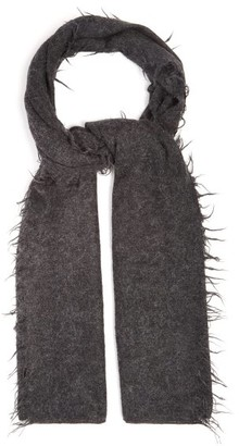 LAUREN MANOOGIAN Fringed Baby-alpaca Scarf - Black