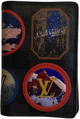 Louis Vuitton Pocket Organizer Multicolour Cloth Small bags, wallets & cases