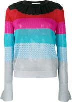 Marco De Vincenzo textured stripe sweater