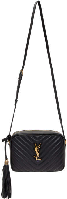 Saint Laurent Black Lou Camera Bag