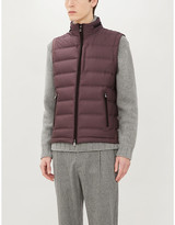 Corneliani Padded shell-down gilet
