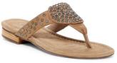 Chocolat Blu Bianka Studded Thong Sandal