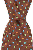Ted Baker Multi Dot Narrow Silk Tie