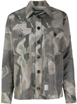 DEPARTMENT 5 camouflage print shirt