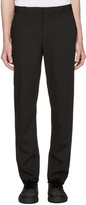 Ann Demeulemeester Black Slim Trousers