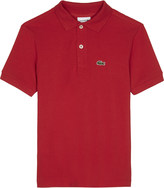 Lacoste Crocodile cotton polo shirt 4-16 years