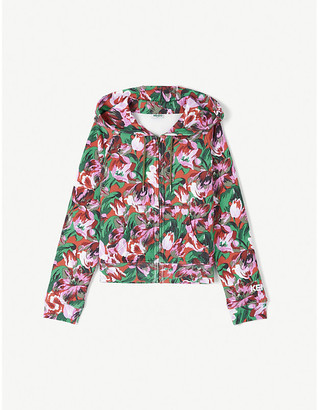 Kenzo x Vans floral-print cotton-jersey hoody